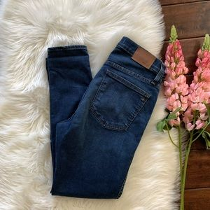 """Madewell▪️Petite 10"""" High Rise Hayes Wash. Sz 28S"""